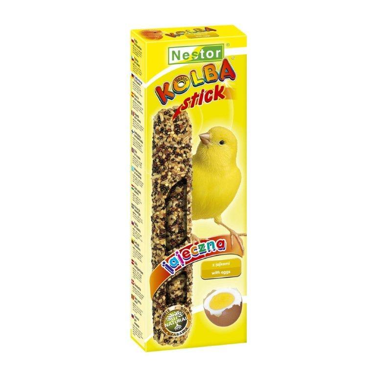 NESTOR Stick clásico con huevo Canarios 85g - 2 unid.