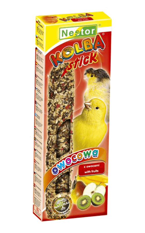 NESTOR Stick clásico con frutas Canarios 85g - 2 unid.