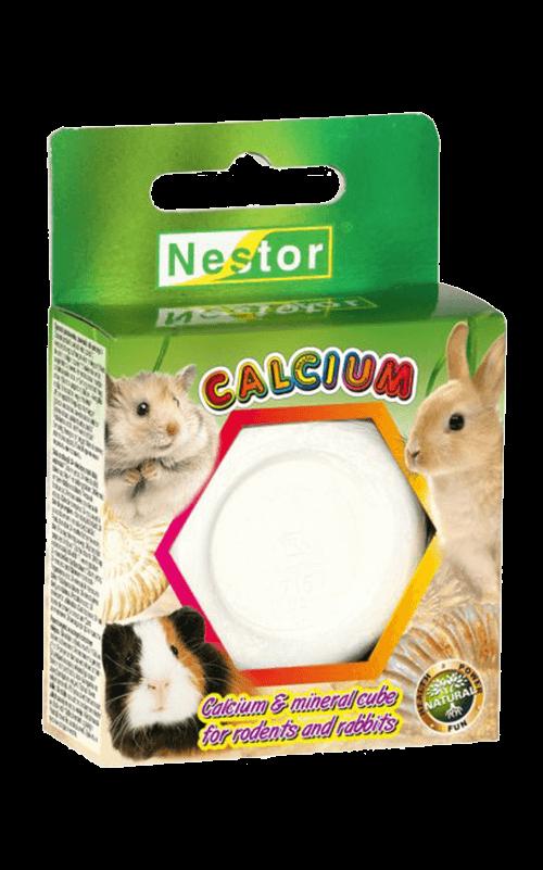 NESTOR Cubo calcio y minerales Conejos y Roedores 55g