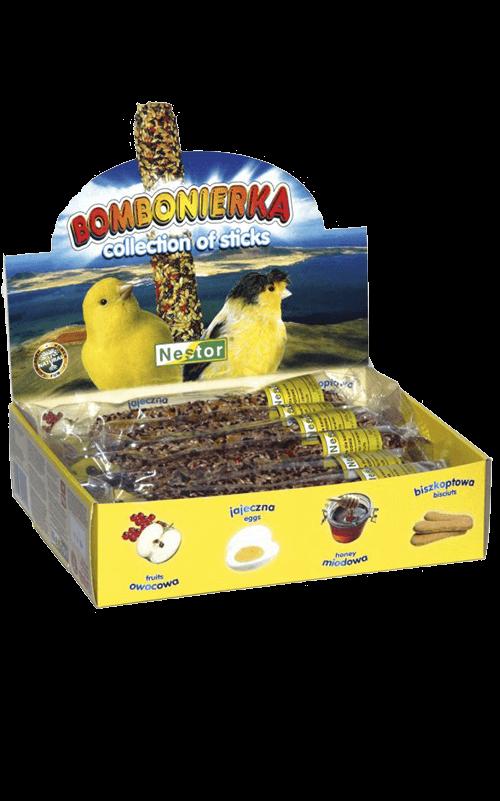 NESTOR Colección Sticks clásicos para Canarios - 12 unid., sabores variados