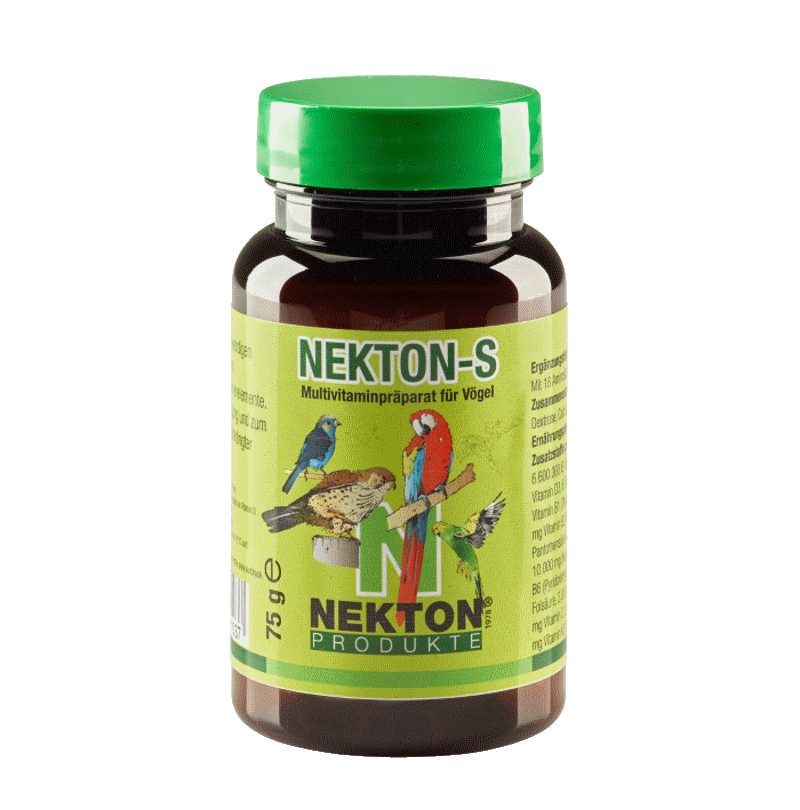 NEKTON-S 75g Preparado multivitamínico para aves