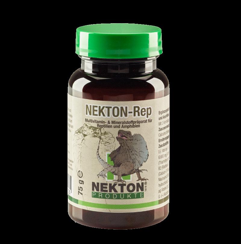 NEKTON-REP 75g Suplemento multivitamínico para anfibios y reptiles