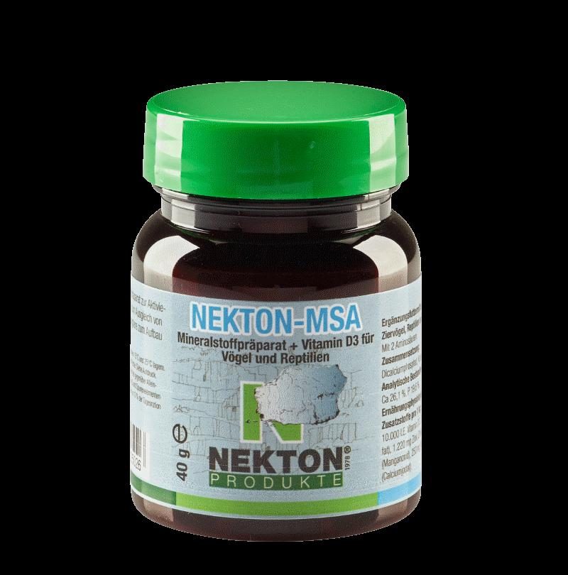 NEKTON-MSA 40g Preparado mineral para aves y reptiles