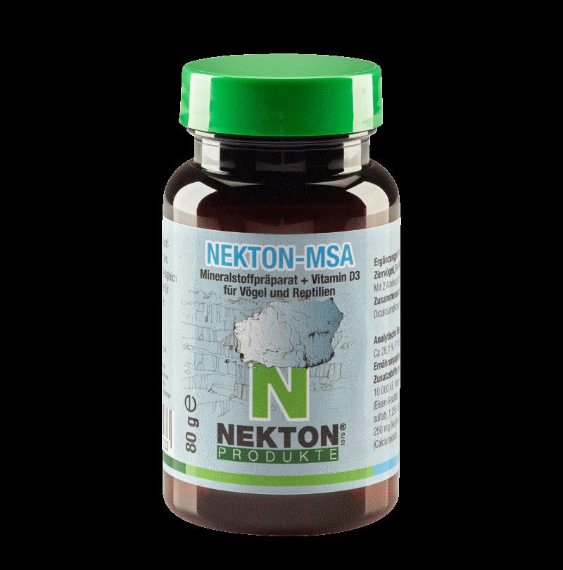 NEKTON-MSA 80g Preparado mineral para aves y reptiles