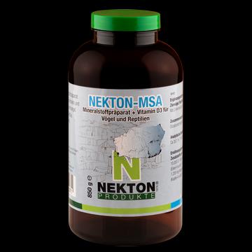 NEKTON-MSA 850g Preparado mineral para aves y reptiles