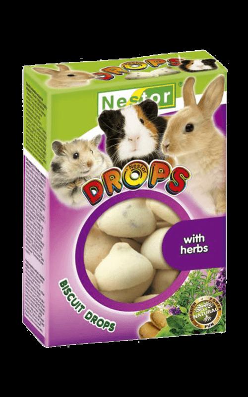 NESTOR Galletitas Drops hierbas Conejos y Roedores 35g