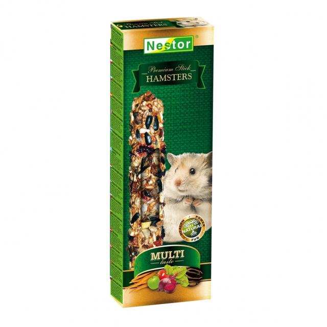 NESTOR Sticks Premium Hámsters 115g - 2und