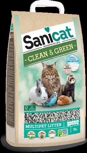 Sanicat Clean & Green Celulosa 10L