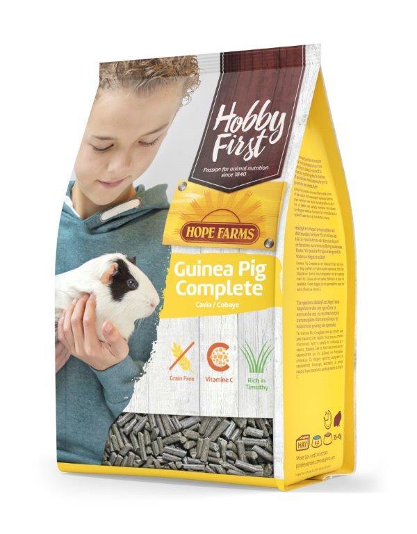HobbyFirst HOPE FARMS Guinea Pig Complete 3 kg Pienso para Cobayas