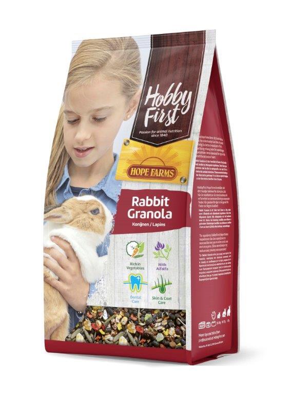 HobbyFirst Hope Farms Rabbit Granola 2 kg