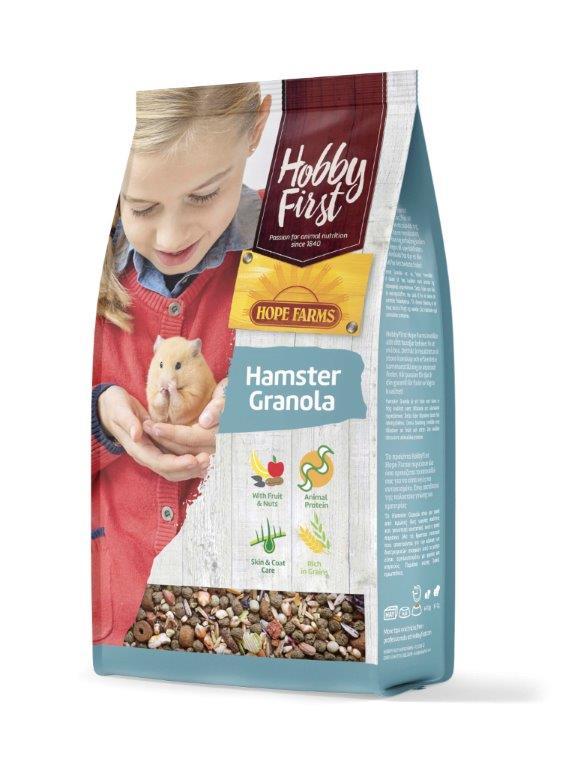HobbyFirst HOPE FARMS Hamster Granola 800 g