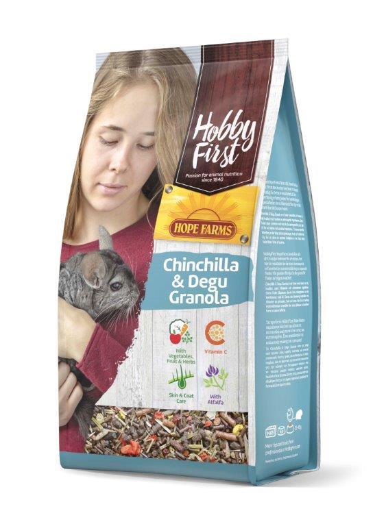 HobbyFirst HOPE FARMS Chinchilla & Degu Granola 2 kg