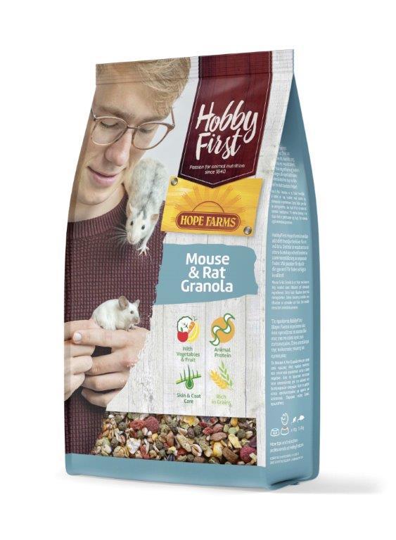 HobbyFirst HOPE FARMS Mouse - Rat Granola 800 g