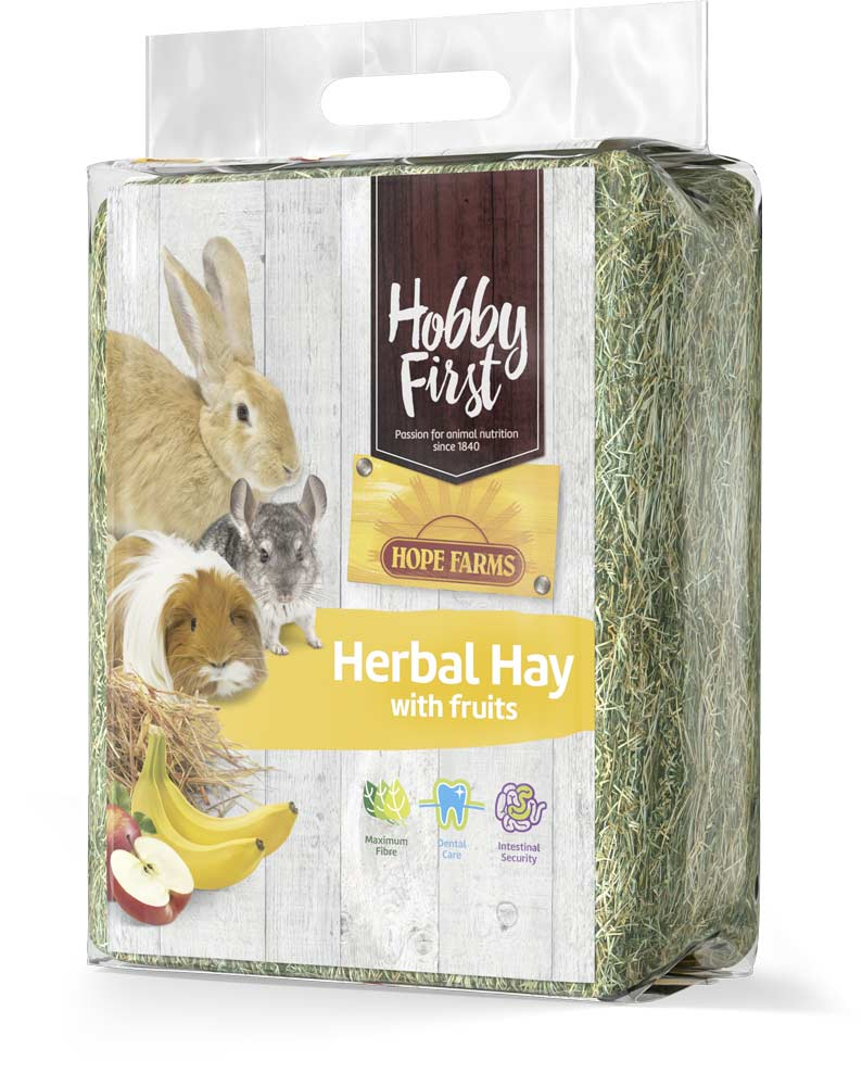 HobbyFirst HOPE FARMS Herbal Hay with Fruits 1 kg