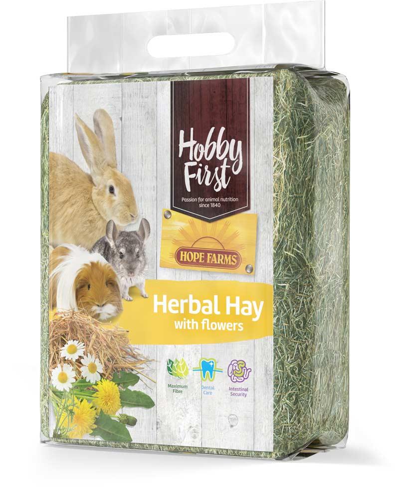 HobbyFirst HOPE FARMS Herbal Hay with Flowers 1 kg