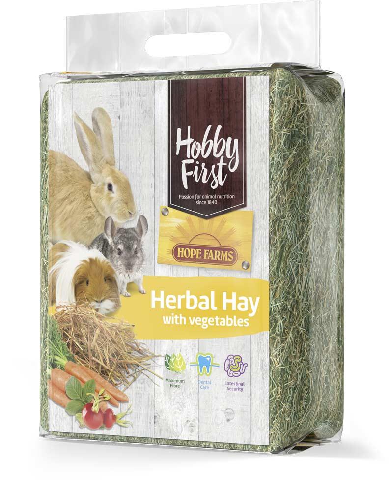 HobbyFirst HOPE FARMS Herbal Hay with Vegetables 1 kg
