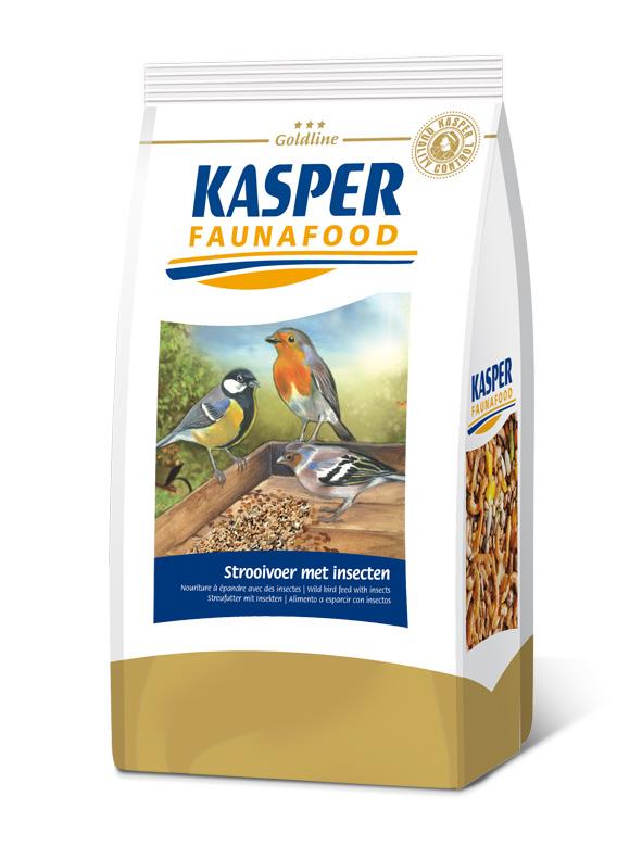 KASPER FAUNAFOOD Mezcla con insectos Pájaros silvestres 1 kg
