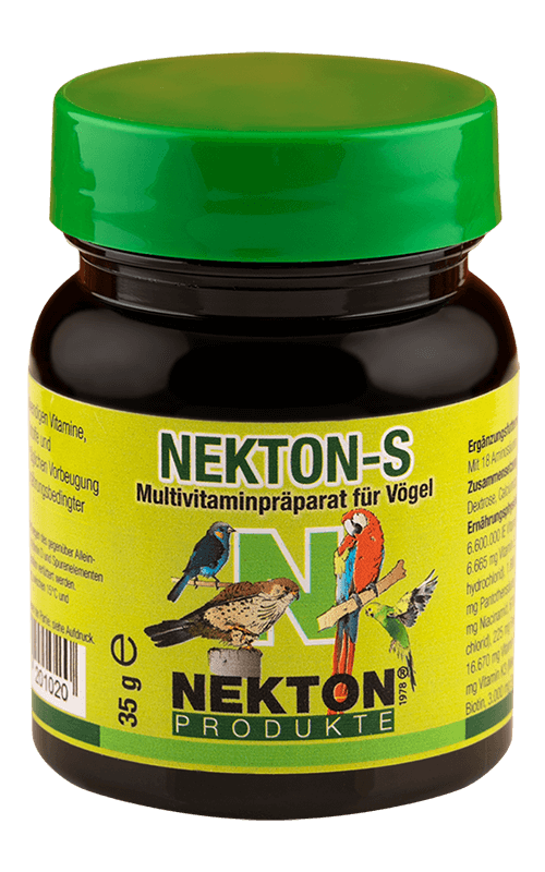 NEKTON-S 35g Suplemento alimenticio para Pájaros