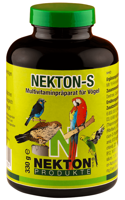 NEKTON-S 330g Suplemento alimenticio para Pájaros