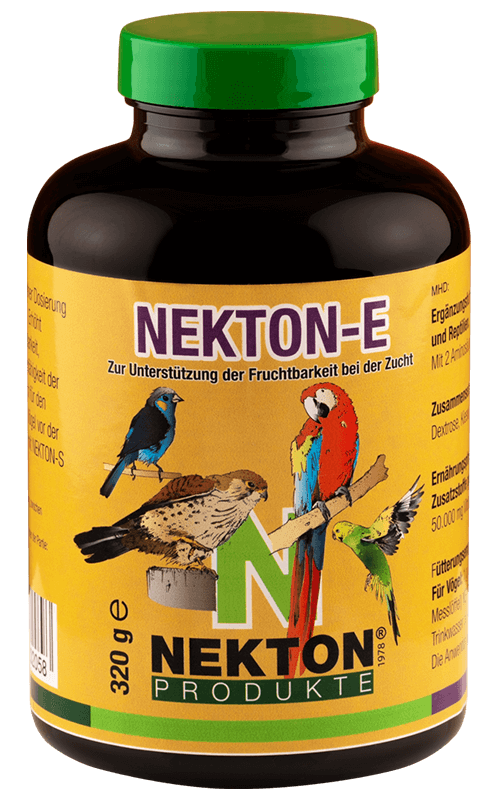 NEKTON-E 320g Vitamina E para Pájaros