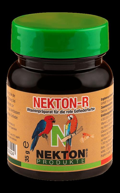 NEKTON-R 35g Suplemento alimenticio con pigmentante rojo para Pájaros