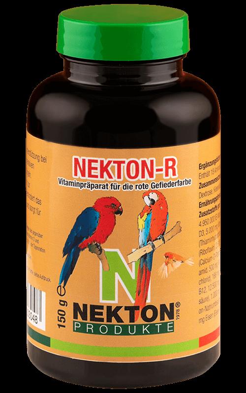 NEKTON-R 150g Preparado multivitamínico con pigmentante rojo para aves