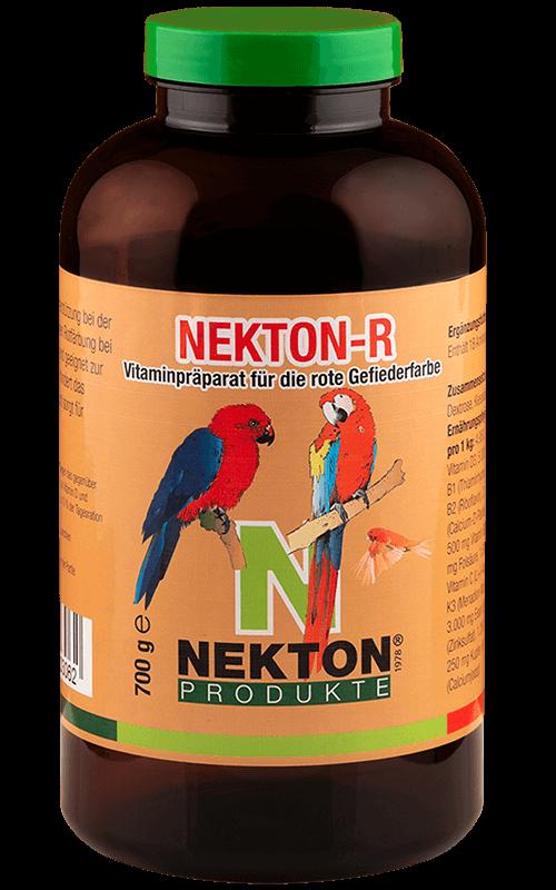 NEKTON-R 700g Suplemento alimenticio con pigmentante rojo para Pájaros
