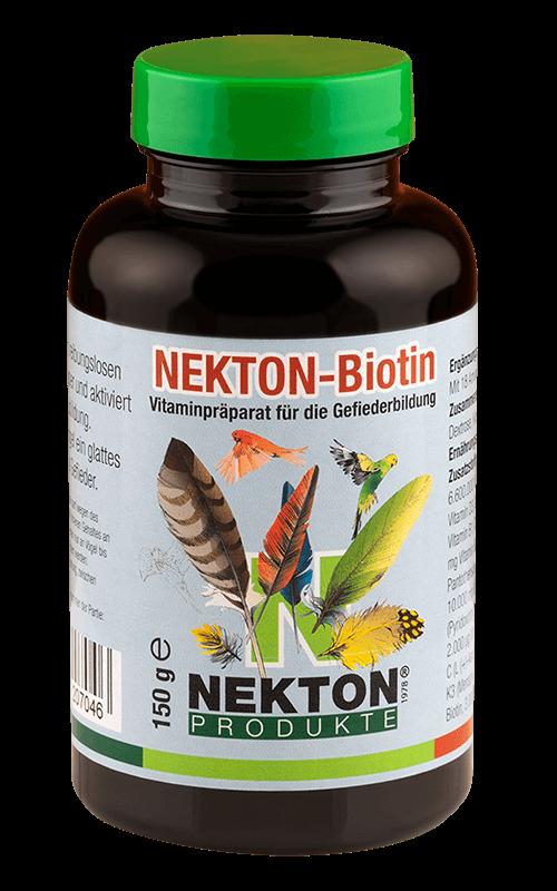 NEKTON-Biotin 150g Preparado multivitamínico especial para el desarrollo del plumaje en aves