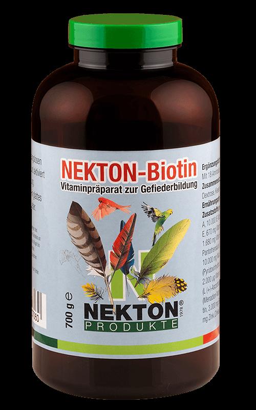 NEKTON-Biotin 700g Preparado multivitamínico especial para el desarrollo del plumaje en aves