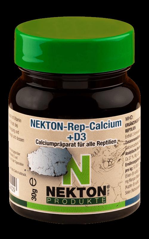 NEKTON - Rep-Calcium -D3 30g Preparado de calcio para reptiles