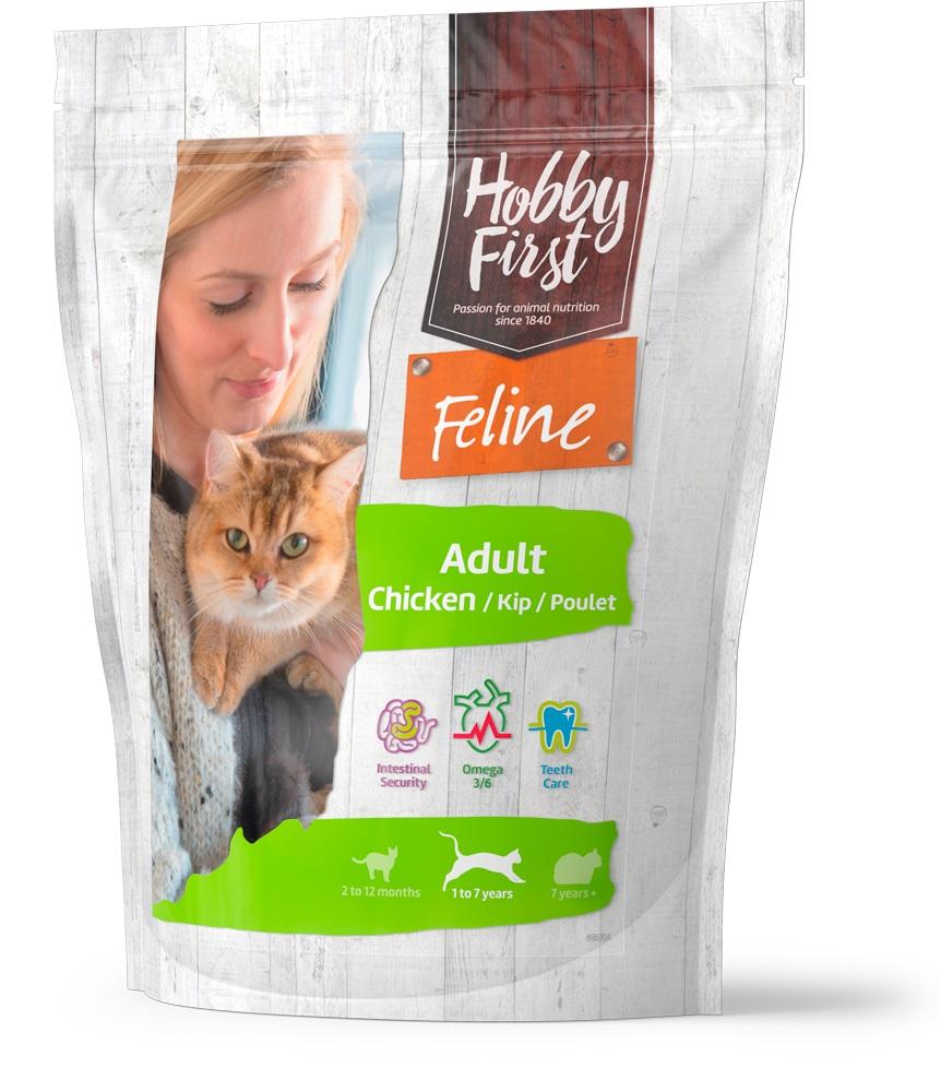 HobbyFrist Feline Adult Chicken 800 g