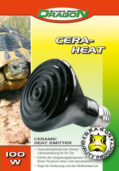 DRAGON Bombilla cerámica de calor 100 w