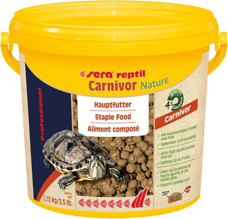 SERA Reptil Professional Carnivor Nature 3.800ml ( Alimento especial tortuga actuática)