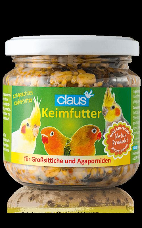CLAUS Semillas germinadas Agapornis / Ninfas 210 ml