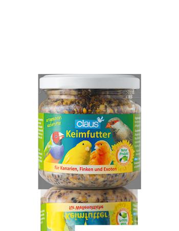 CLAUS Semillas germinadas Canarios / Pinzones / Pájaros tropicales 210 ml
