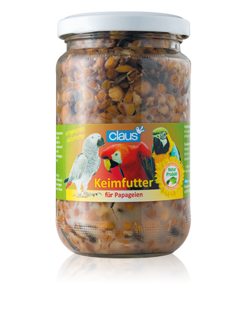 CLAUS Semillas germinadas Loros y Cotorras 720 ml