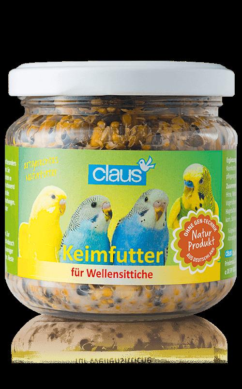 CLAUS Semillas germinadas Periquitos 210 ml