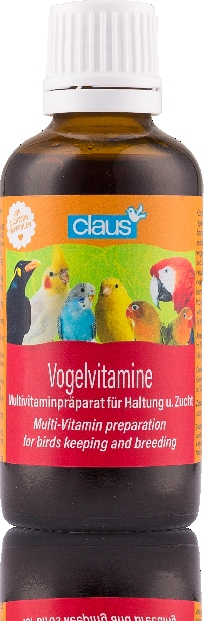 CLAUS Vitaminas para pájaros 50 ml