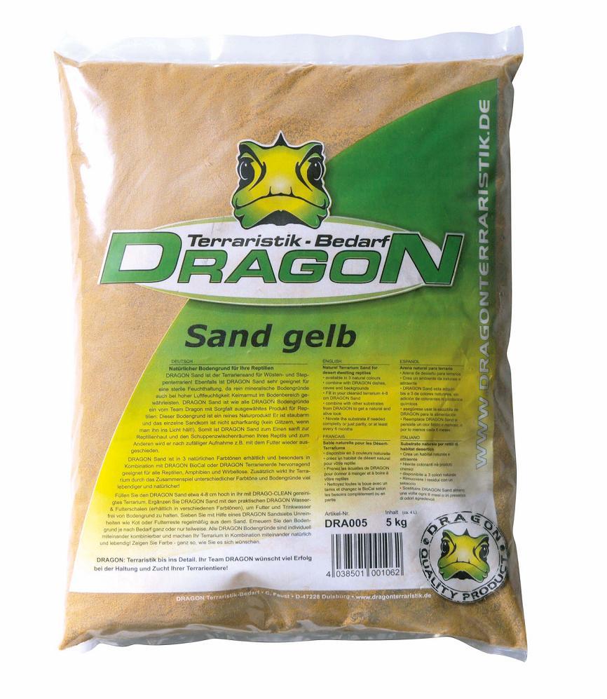Arena amarilla Dragon 5kg