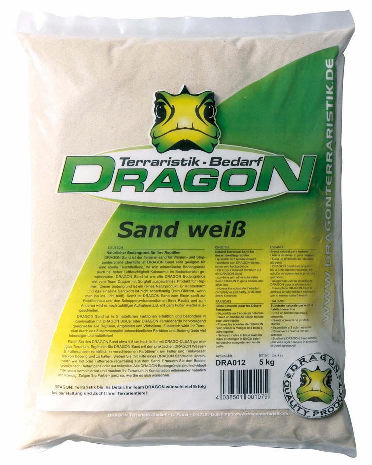 Arena blanca 5kg Dragon