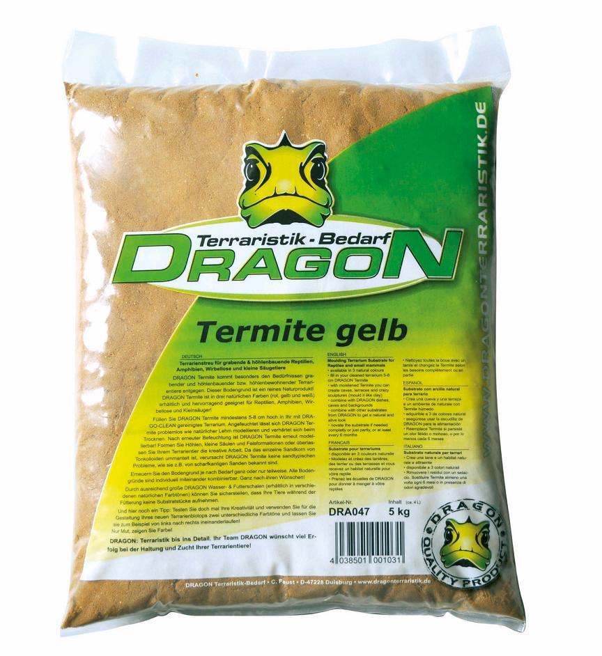 Dragon Termite amarilla 5kg