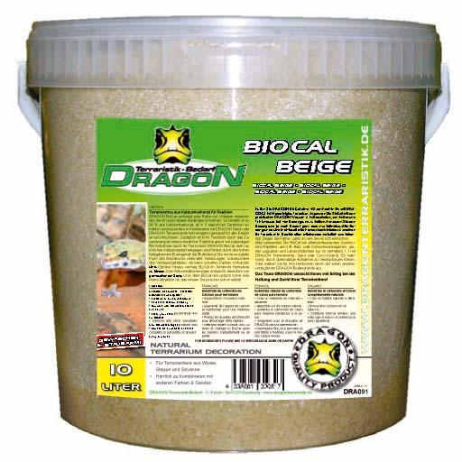 BioCal beige 10l en cubo Dragon