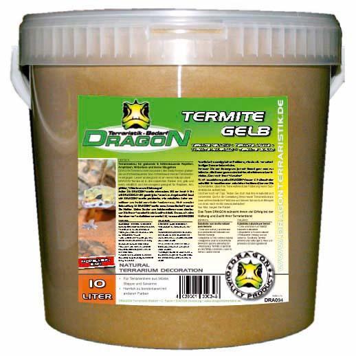 Termite Sand amarilla 10 l en cubo Dragon