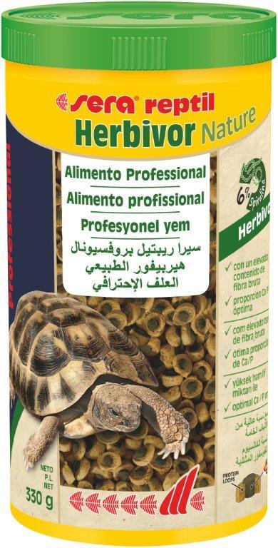 SERA Reptil Professional Herbivor Nature 1000ml (alimento especial reptiles herbívoros)