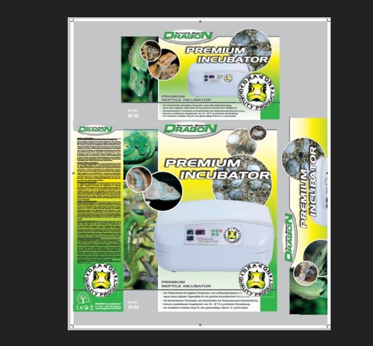 Incubadora PREMIUM  INCUBATOR 55x45x23cm