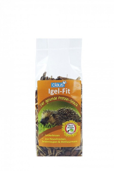 CLAUS Igel-Fit (snack proteico) para micromamíferos insectívoros 75g