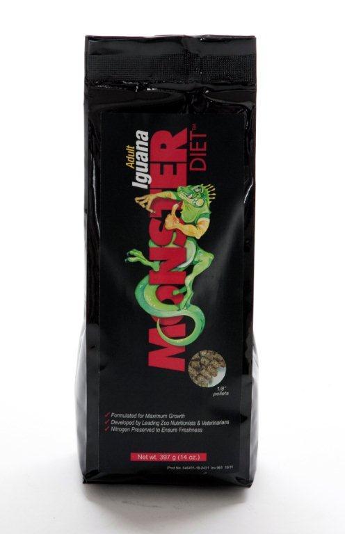 MONSTER DIETS Pienso Iguana Adulta 400 g