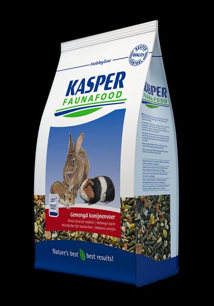 KASPER FAUNAFOOD Mixtura con zanahoria conejos - 3,5 kg
