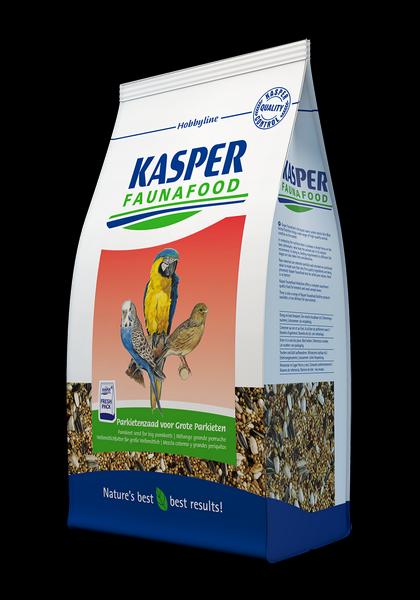 KASPER FAUNAFOOD Mezcla para Cotorras Grandes, Agapornis, etc. 4 kg