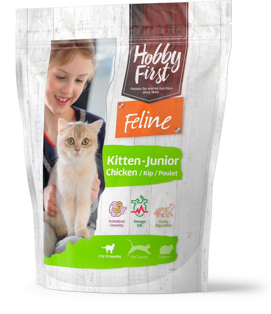 HobbyFirst Feline Junior-Kitten Chicken 800 g